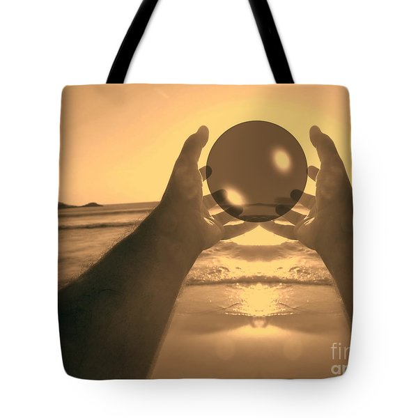Tote Bag featuring the photograph Perfect Circle by Beto Machado