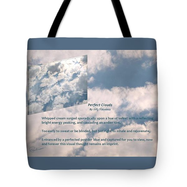 Perfect Clouds Tote Bag