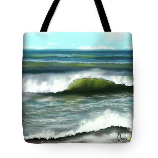 Perfect Day Tote Bag by Dawn Harrell