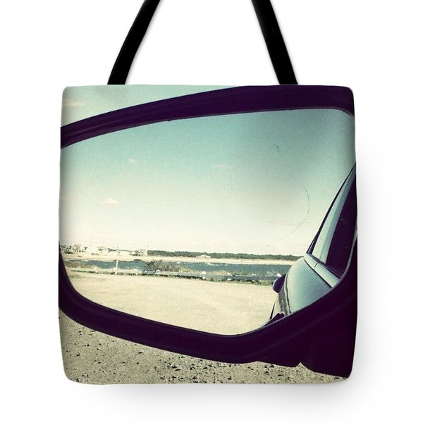 Drive By The Sea Tote Bag