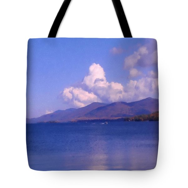 Perfect Day On The Lake Tote Bag