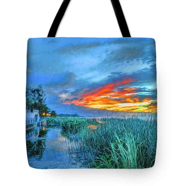 Perfect End Of Day. Tote Bag