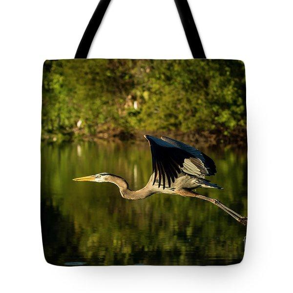 Perfect Flight Tote Bag by Quinn Sedam