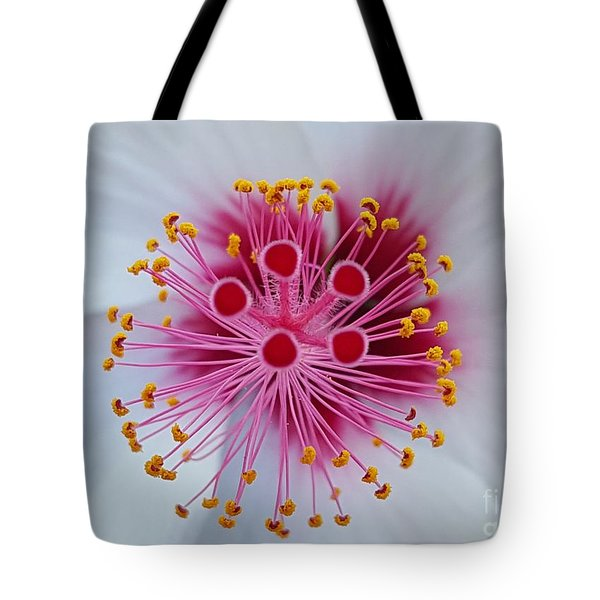 Perfect Flower Pestle Tote Bag by Jasna Gopic