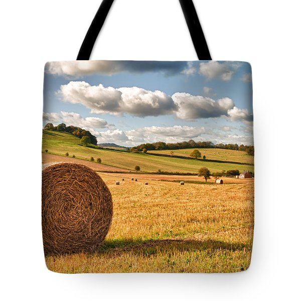 Perfect Harvest Landscape Tote Bag