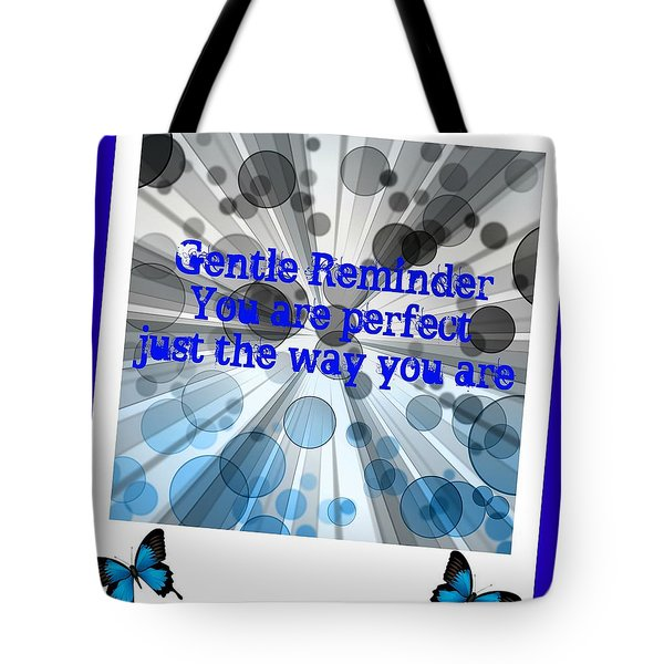 Tote Bag featuring the digital art Perfect by Holley Jacobs