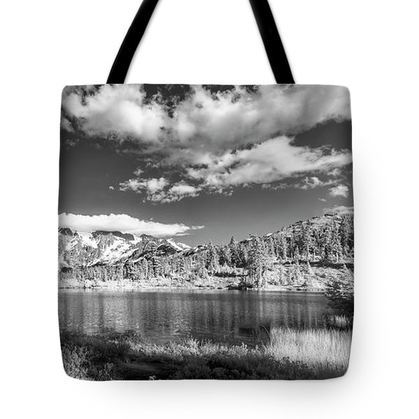 Tote Bag featuring the photograph Perfect Lake At Mount Baker by Jon Glaser