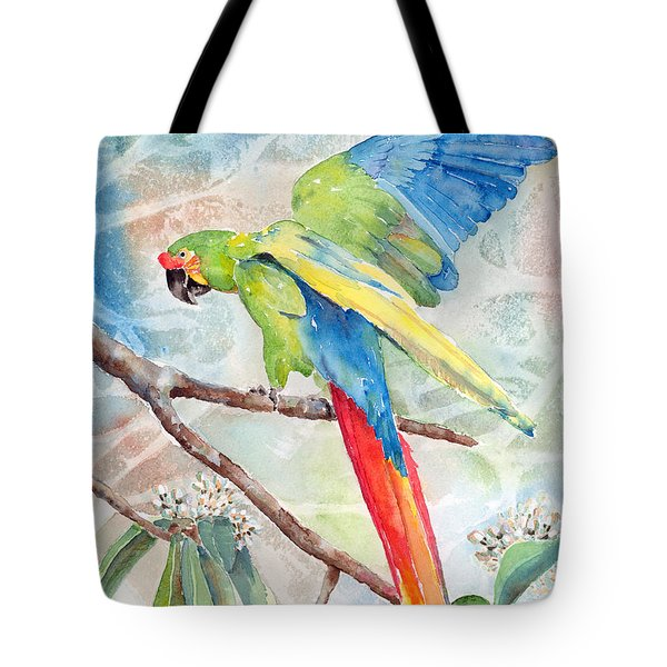 Perfect Landing Tote Bag by Arline Wagner
