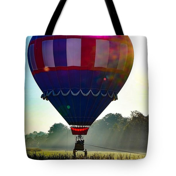 Tote Bag featuring the photograph Perfect Landing by Kendall McKernon