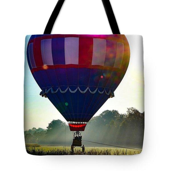 Perfect Landing Tote Bag