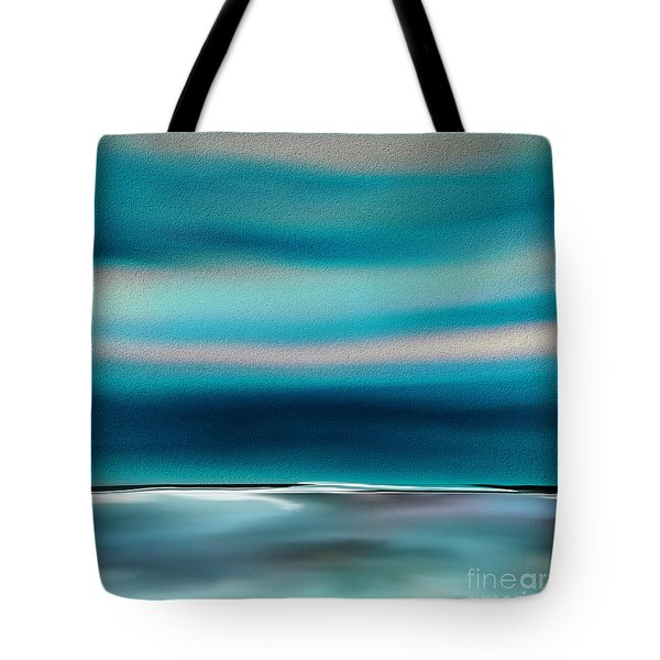 Tote Bag featuring the digital art Perfect Moment by Yul Olaivar