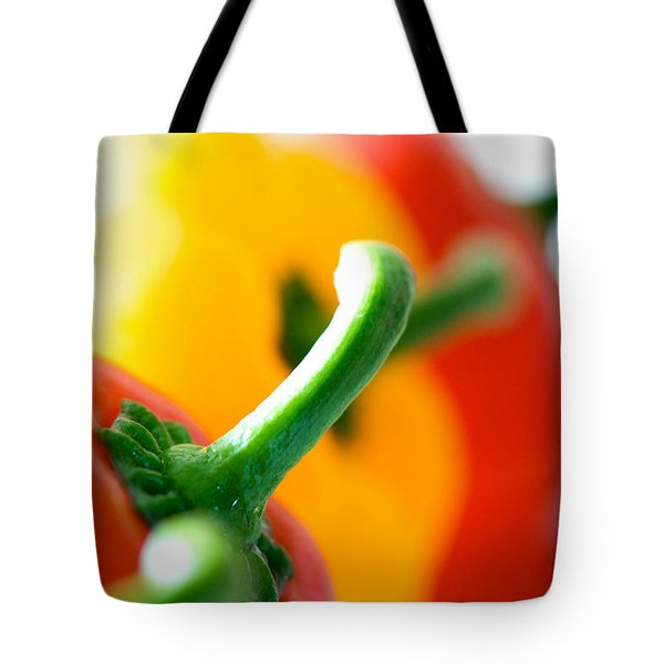 Perfect Peppers Tote Bag by Lisa Knechtel