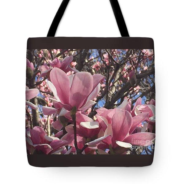 Perfect Pink Petals Tote Bag