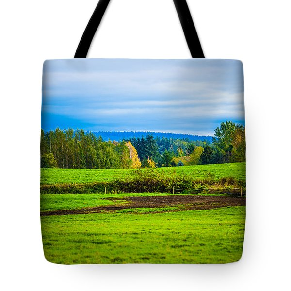 Perfect Place For A Meadow Tote Bag