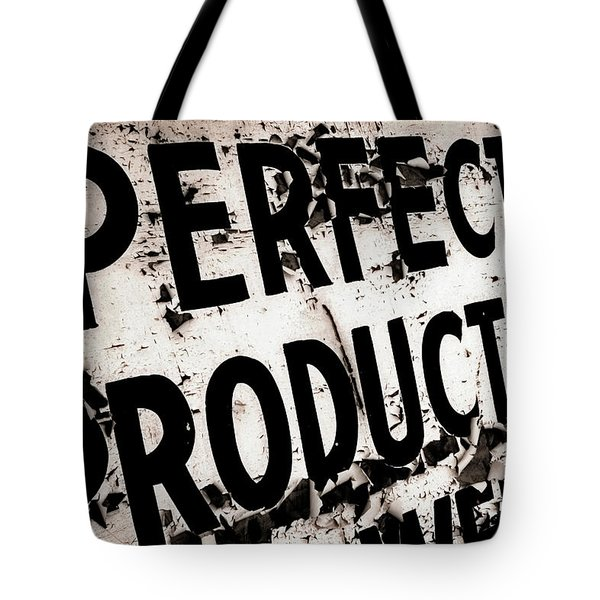 Perfect Productions Tote Bag by Gray  Artus