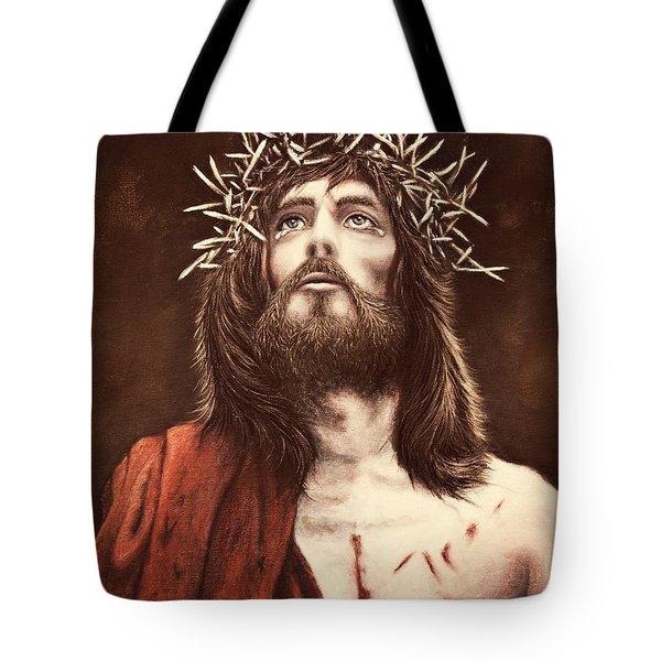 Perfect Sacrifice Tote Bag by Amanda Hukill