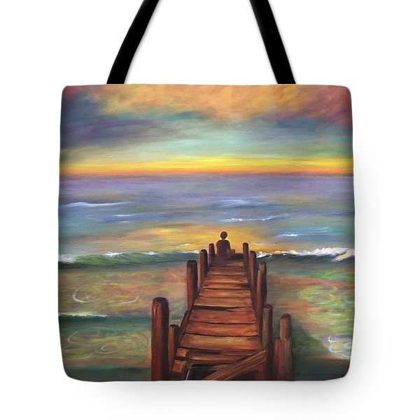 Perfect Solitude  Tote Bag by Susan Dehlinger