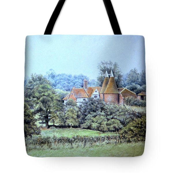 Tote Bag featuring the painting Perfect Summer Afternoon by Rosemary Colyer