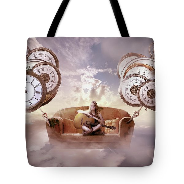 Perfect Timing  Tote Bag by Nathan Wright