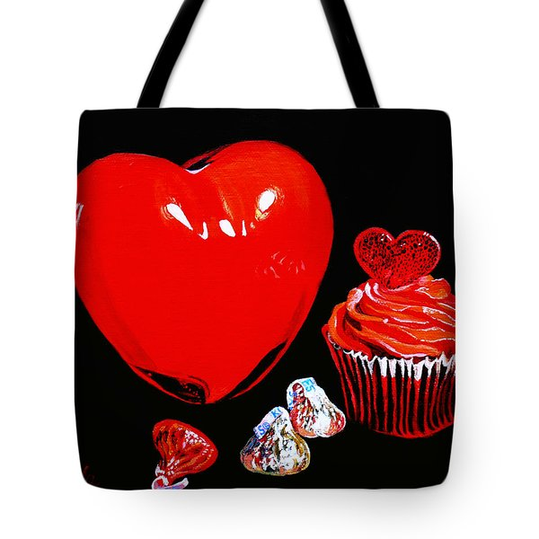 Perfect Valentine Sweets No Calories Tote Bag