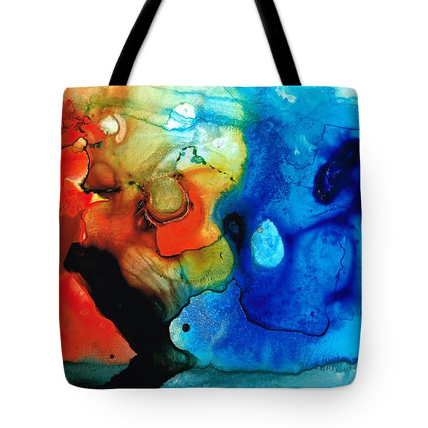 Perfect Whole And Complete By Sharon Cummings Tote Bag