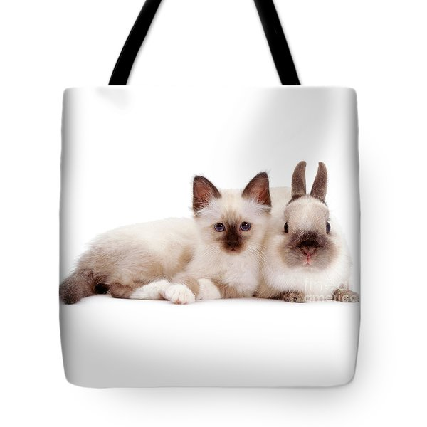 Perfectly Paired Pals Tote Bag