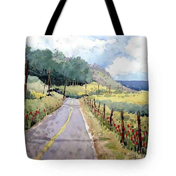 Perfectly Peaceful Pacific Tote Bag