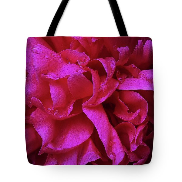 Perfectly Pink Peony Petals Tote Bag
