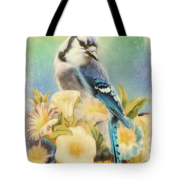 Perfectly Poised Tote Bag by Tina LeCour