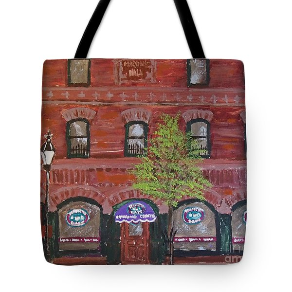 Perfecto's Cafe Tote Bag