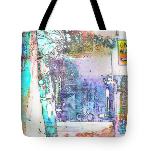 Tote Bag featuring the photograph Performance Arts by Susan Stone