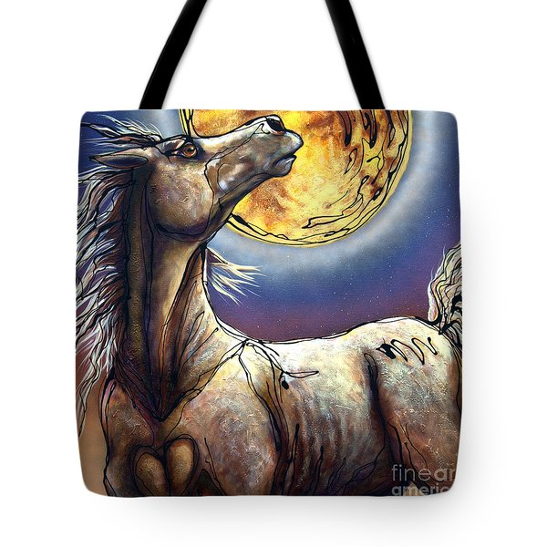 Perigee Moon Tote Bag