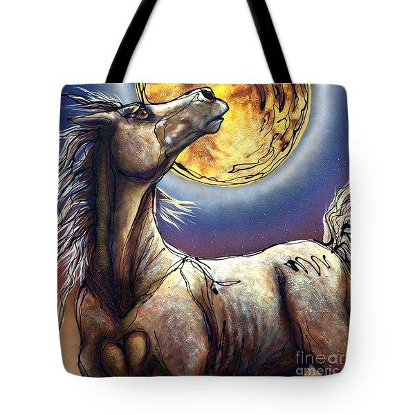 Perigee Moon Tote Bag