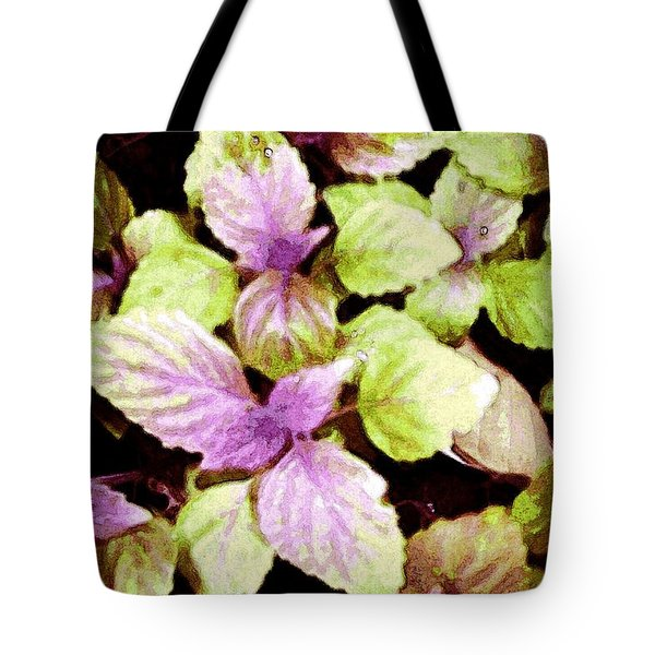 Perilla Beauty Tote Bag