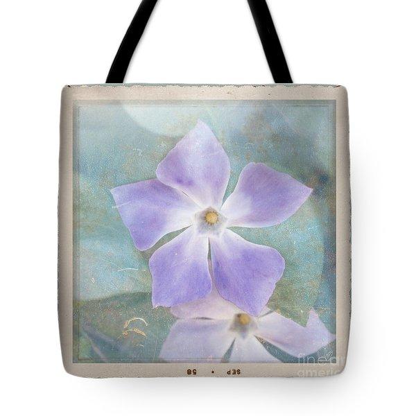 Periwinkle Stars Tote Bag