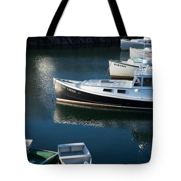 Perkins Cove Lobster Boats One Tote Bag