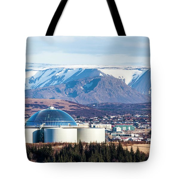 Perlan Tote Bag by Wade Courtney