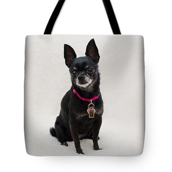 Tote Bag featuring the photograph Perlita 5 by Irina ArchAngelSkaya