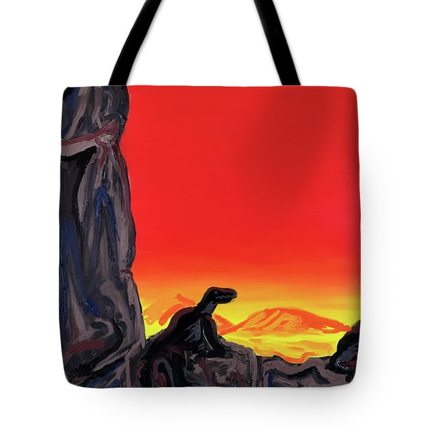 Permian Outpost Tote Bag