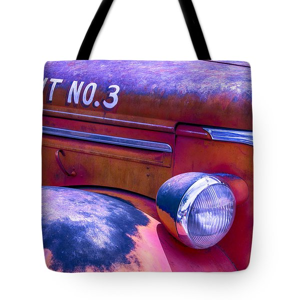 Permit No 3 Tote Bag