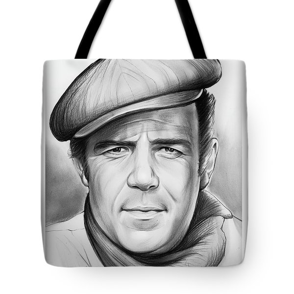 Pernell Roberts Tote Bag