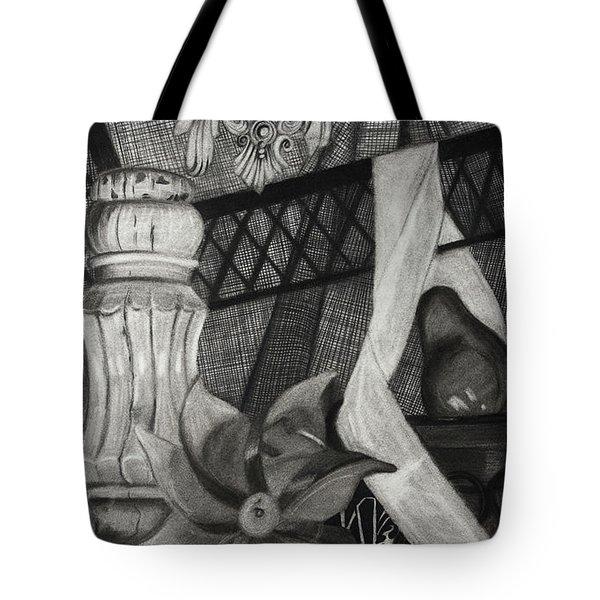 Perpeptual Pinwheel Tote Bag