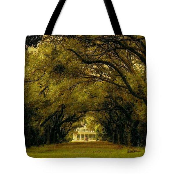 Perplexing Plantation Tote Bag