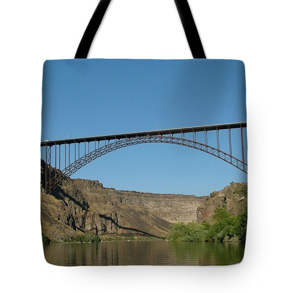 Perrine Bridge Tote Bag