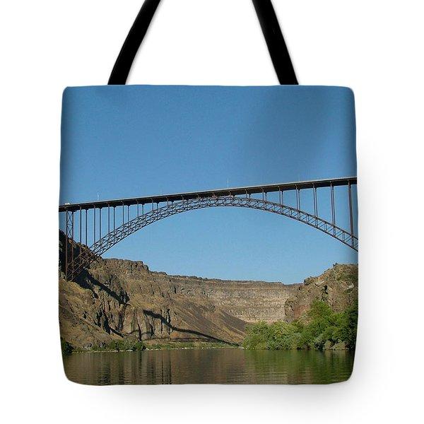 Perrine Bridge Tote Bag
