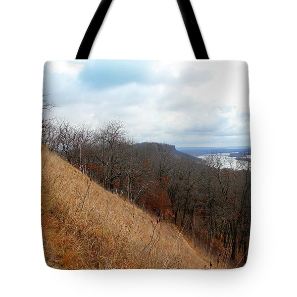 Perrot State Park Mississippi River 5 Tote Bag