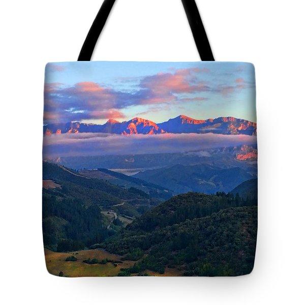 Perrozo Morning Tote Bag