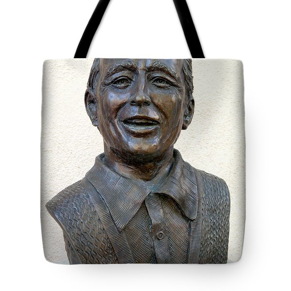 Perry Como Bust Tote Bag