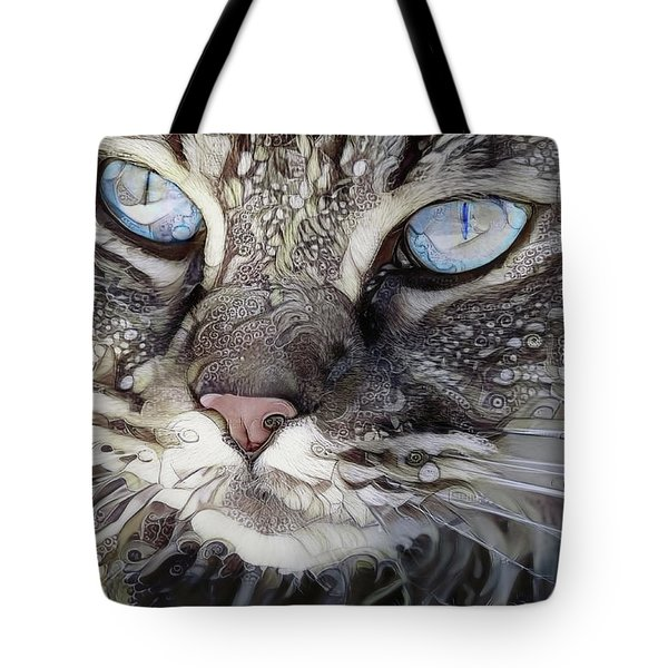 Perry The Persian Cat Tote Bag