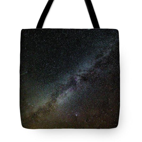 Perseid Meteor Tote Bag